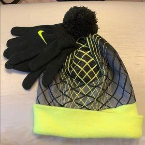 94140fe9ae3dde Nike · Nike Boys Hat & Glove Set